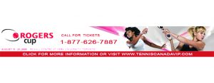 ROGERS CUP NEWS BANNER
