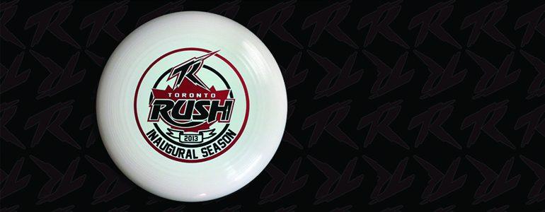 Toronto Rush Disc Banner