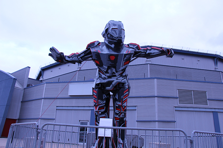 Brampton Iron Man
