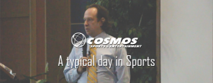 A typical day in sports