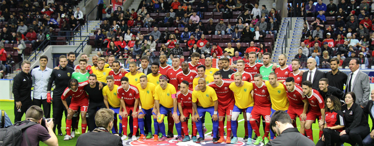 Canada defeats Brazil in 2nd International Friendly