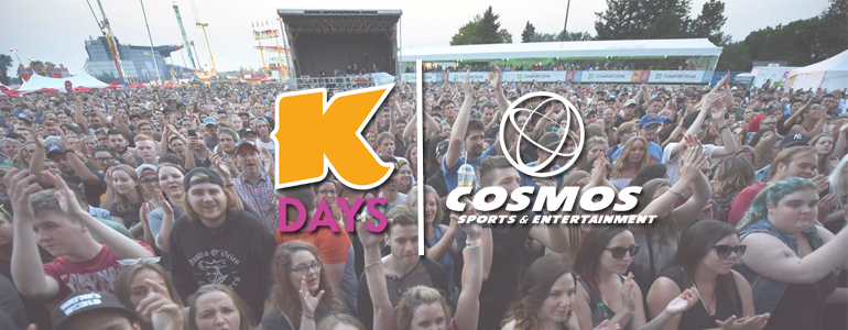 Northlands teams up with Cosmos for K-Days 2018
